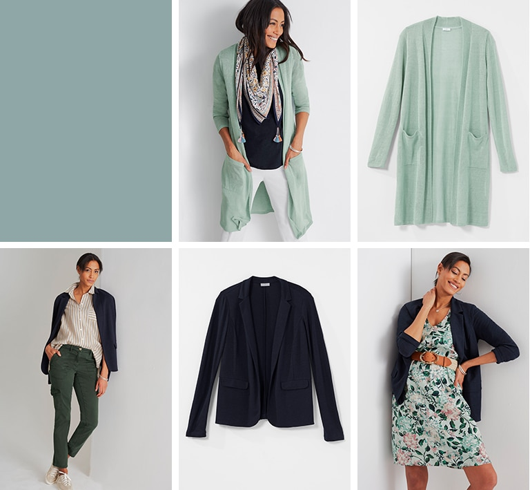 Shop Mix It Up for nine styles and almost a month of outfits