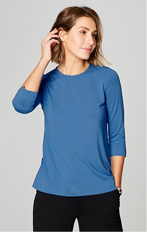 Shop our Wearever crew-neck ballet-sleeve top