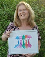 Alice M. Gilbert, winner of our Compassion Fund Creativitee Contest