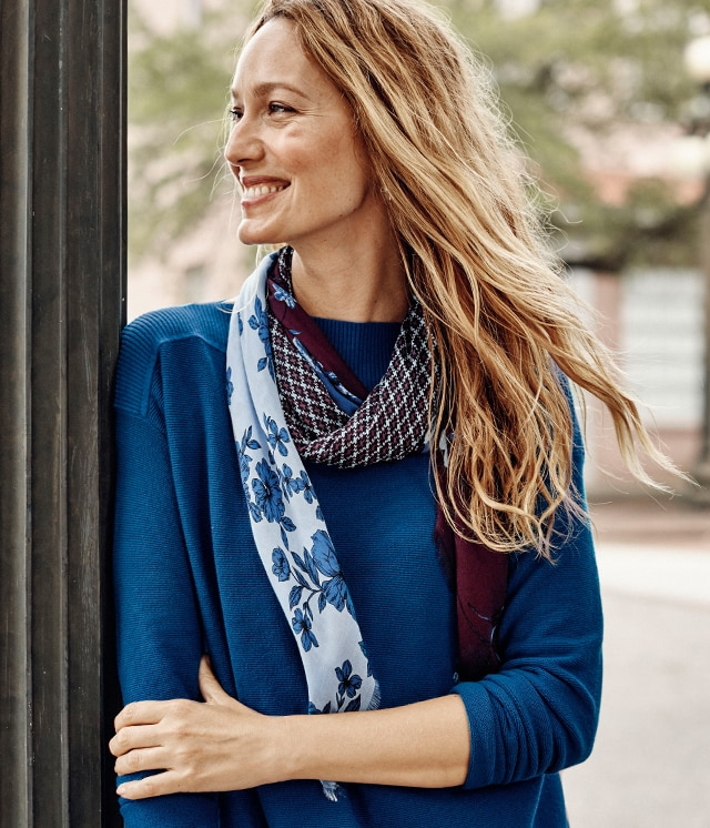 Shop scarves for every outfit