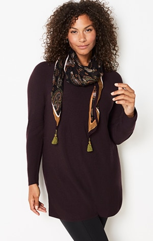 Shop our Erica merino tunic