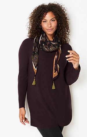 Shop our merino tunic