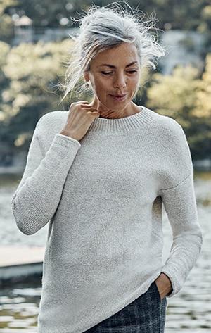 Shop our Cozy Crew-Neck Sweater