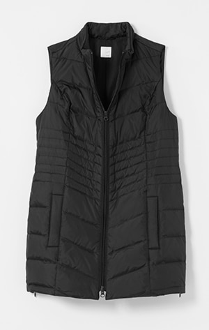 Shop our side-zip puffer vest