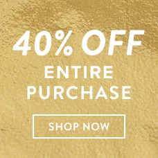 Shop Early & Save! 40% Off Your Entire Purchase. Shop New Shoes & Accessories.