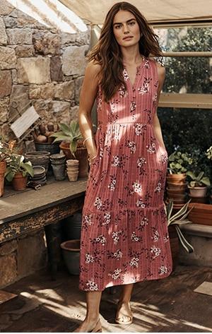 Shop our Spring Garden Tiered Dress