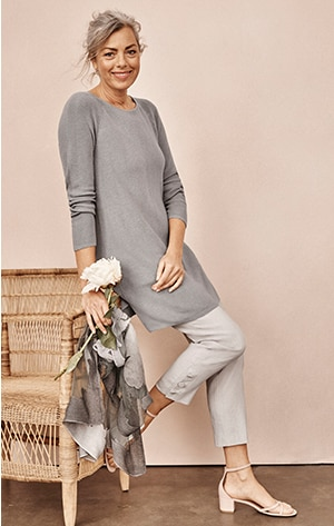 Shop our A-Line Sweater Tunic