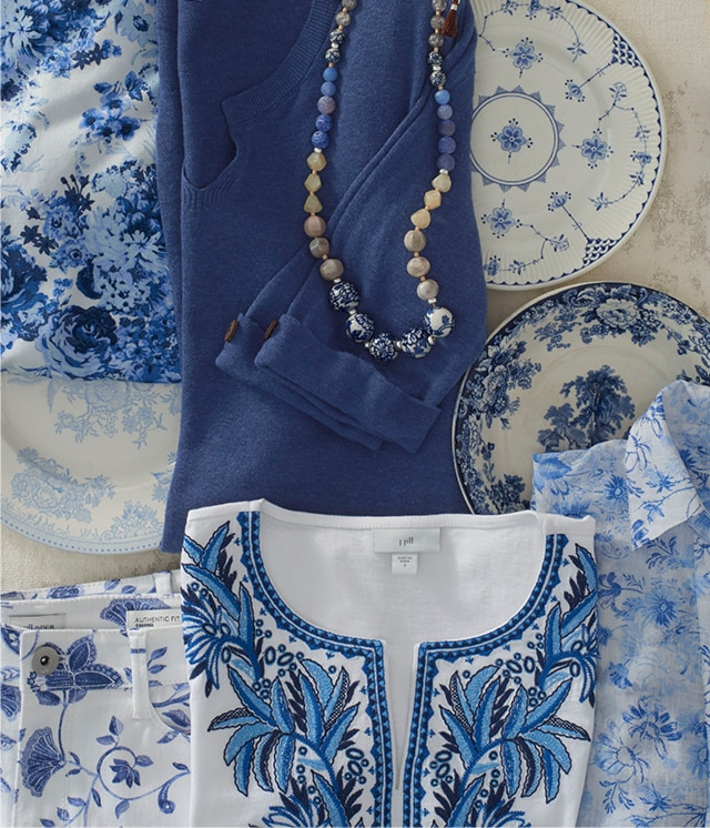 Shop our shades of blue
