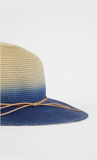 Shop our ombré paper straw hat