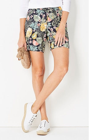 Shop our Easy Tie-Waist Shorts