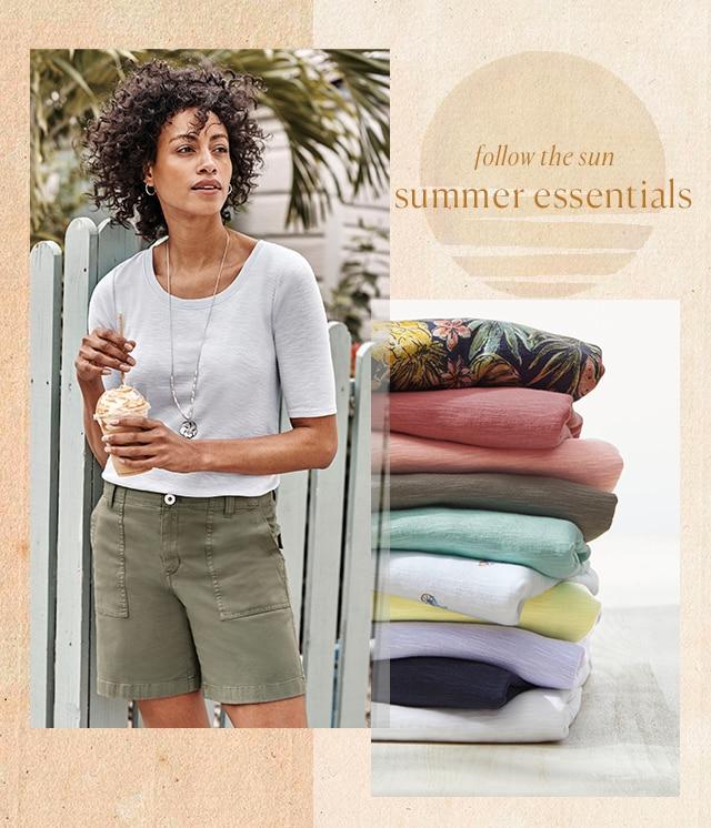 Shop our summer essentials