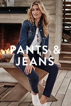 Shop our pants & jeans