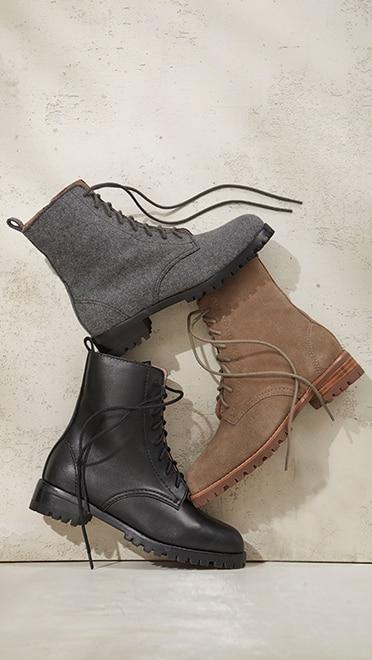 Shop our Naomi lace-up boots