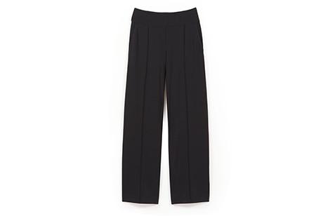 seamed full-leg pants