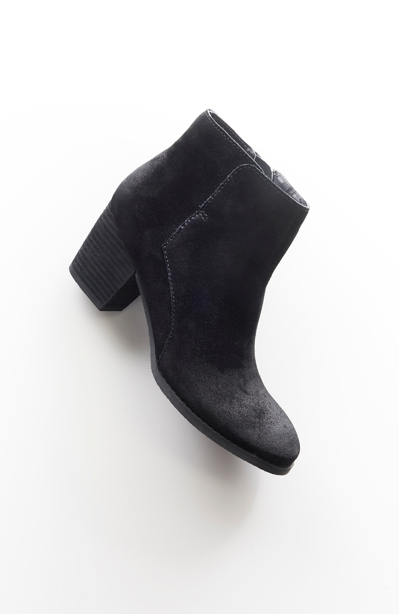 Gee'WaWa® for J.Jill stacked-heel short boots