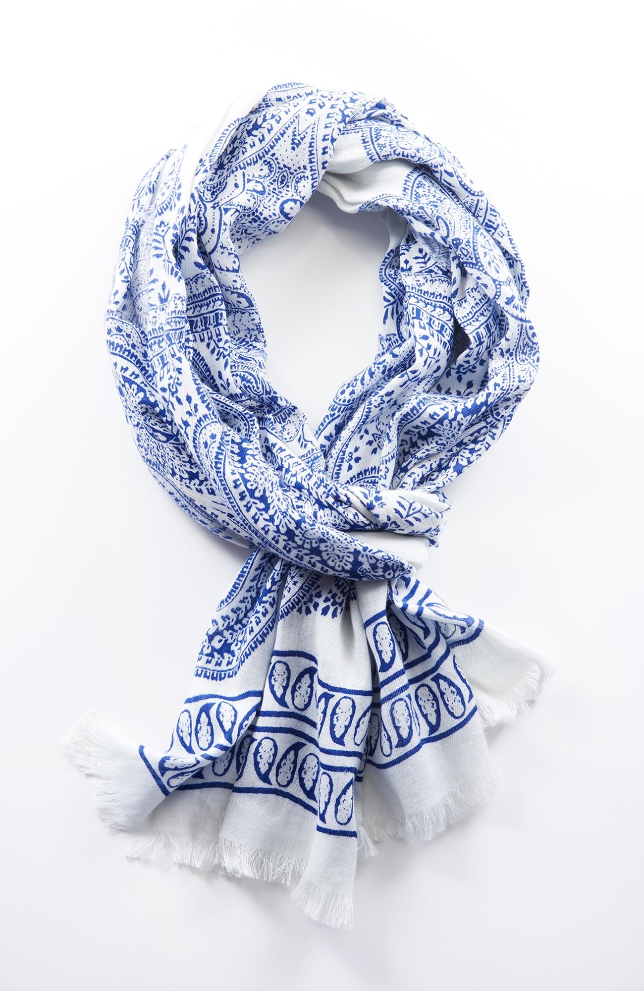 porcelain paisley scarf