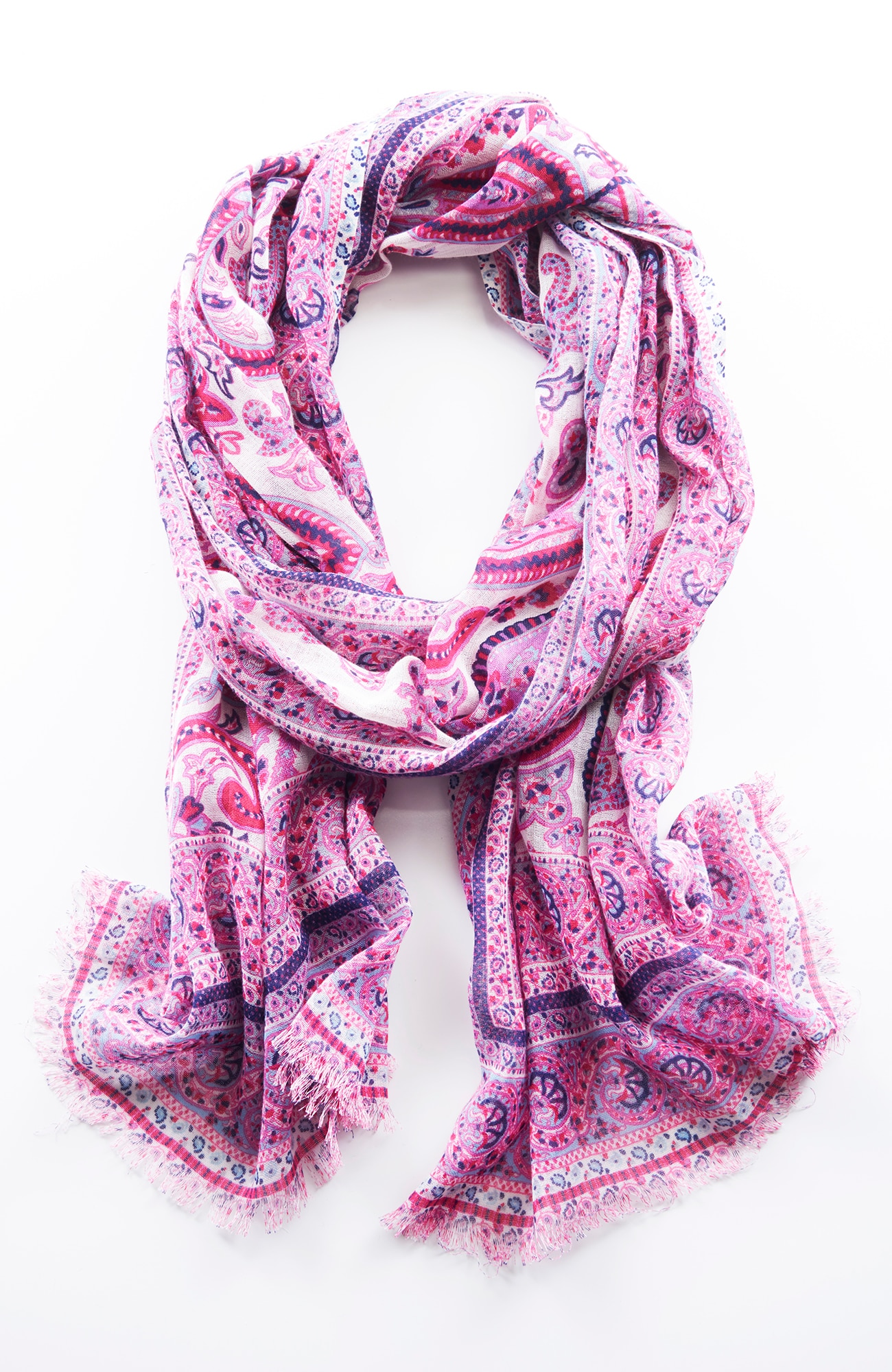 paisley kaleidoscope scarf