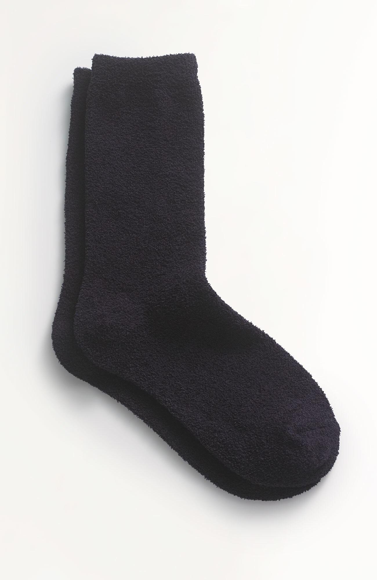 chenille crew socks
