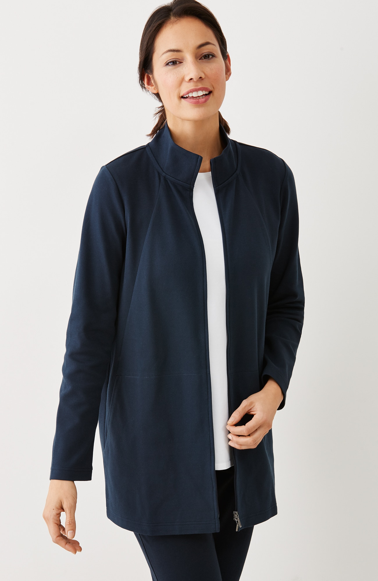 Pure Jill seamed jacket