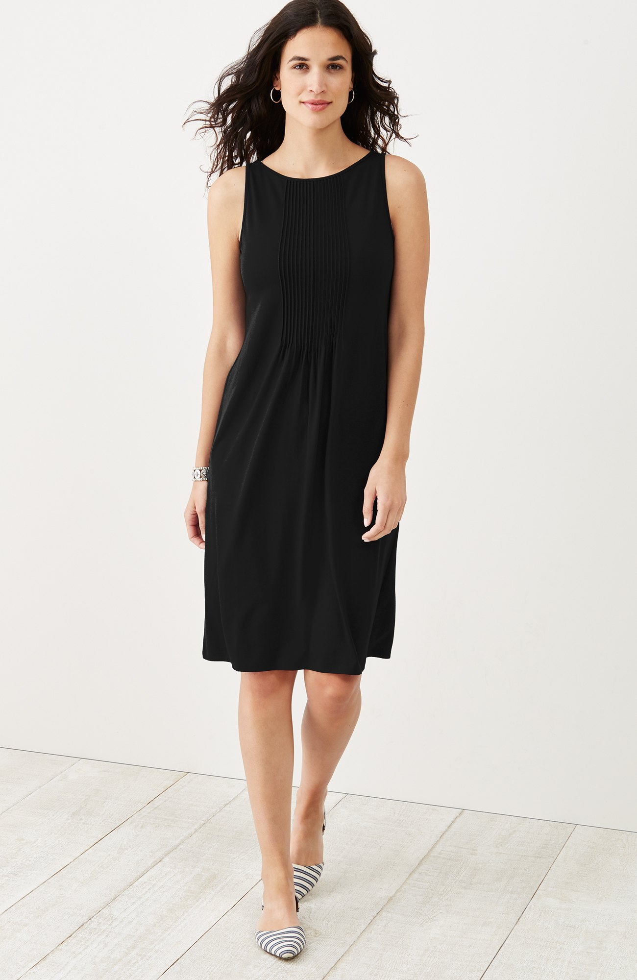 Wearever pintucked tank dress