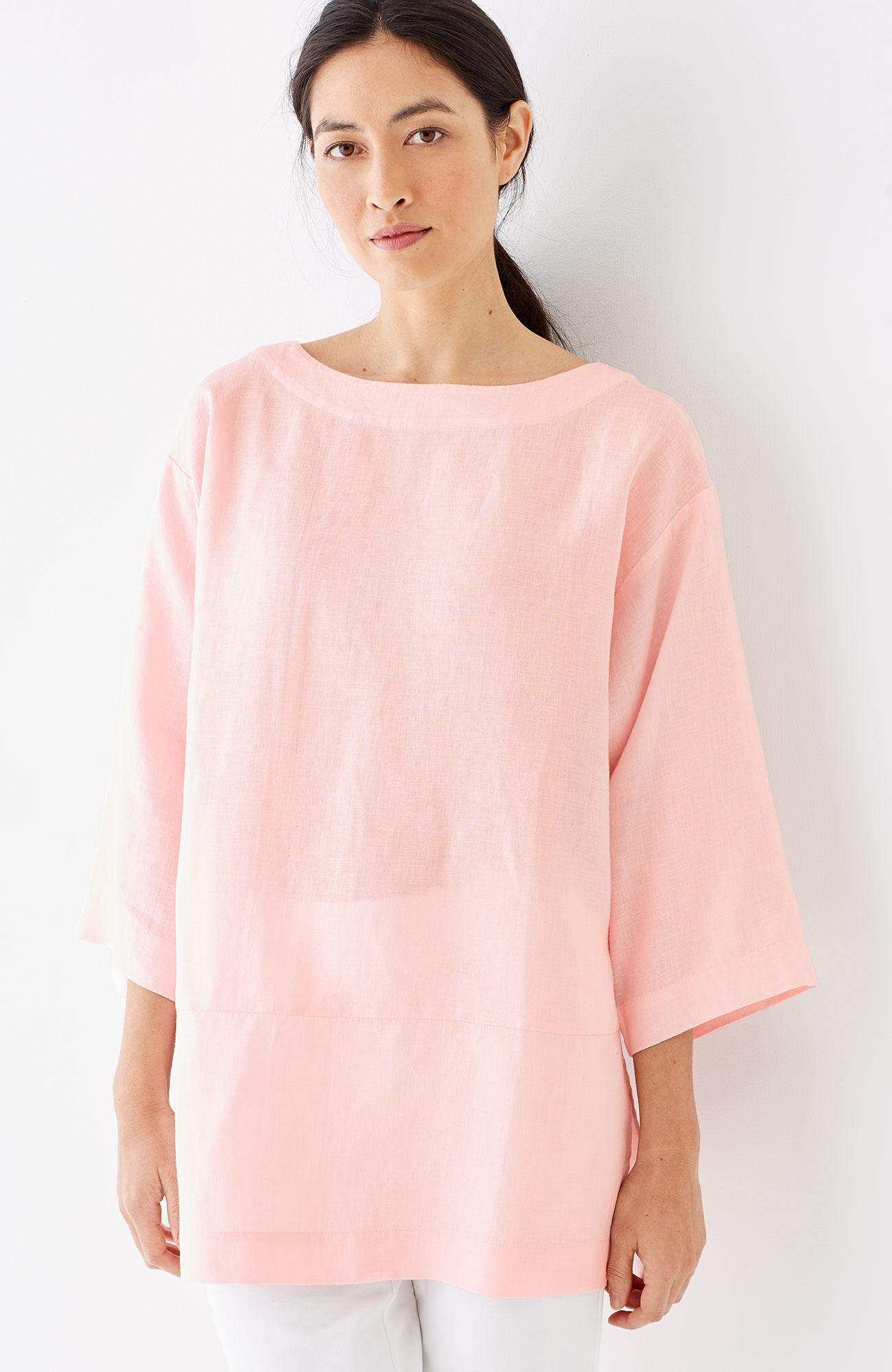 Pure Jill linen kimono tunic