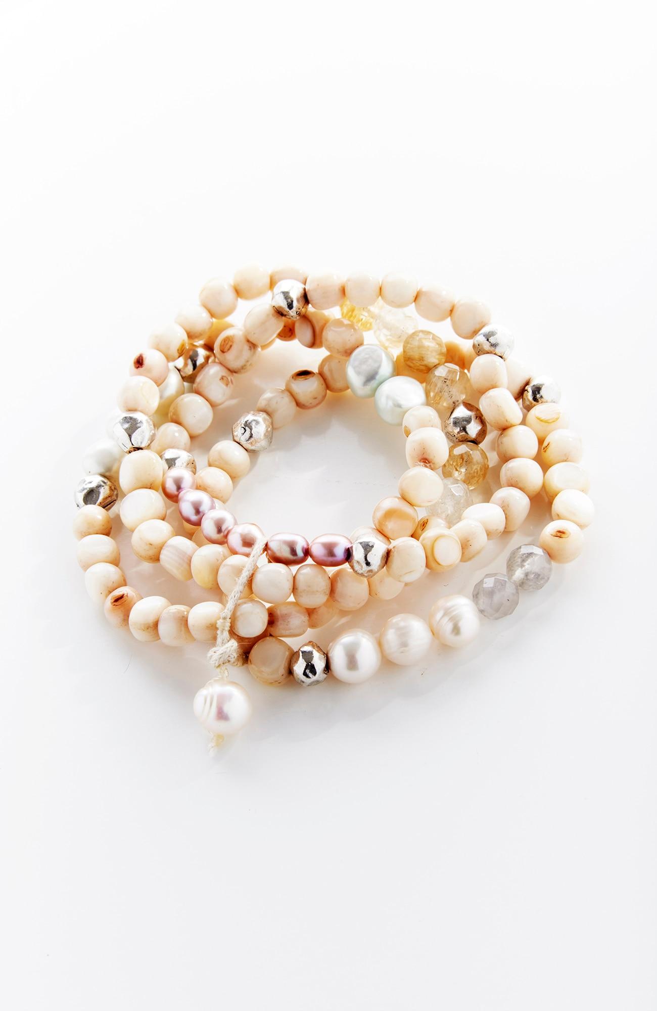 sea mist bracelet stack