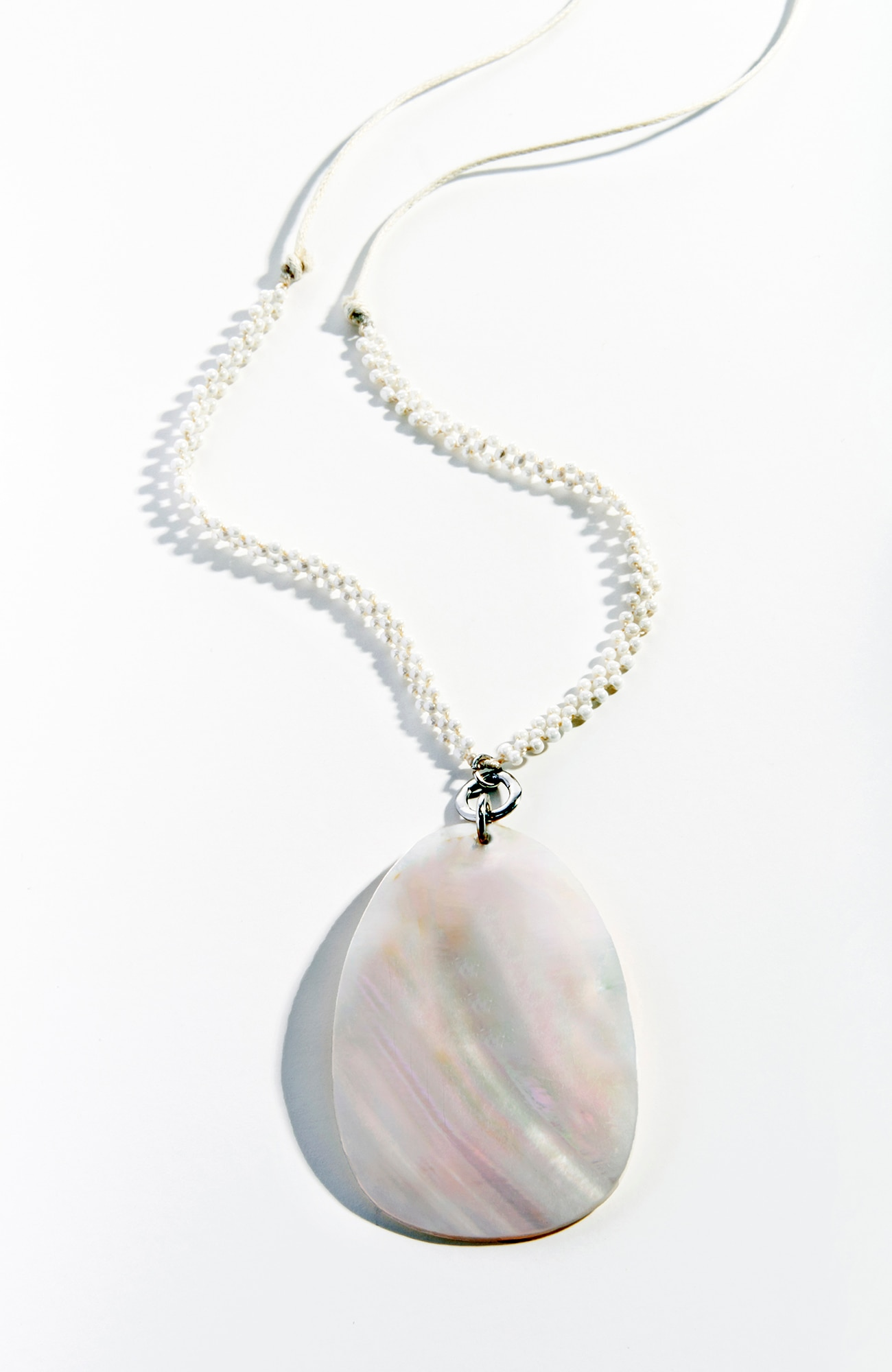 sea mist pendant necklace