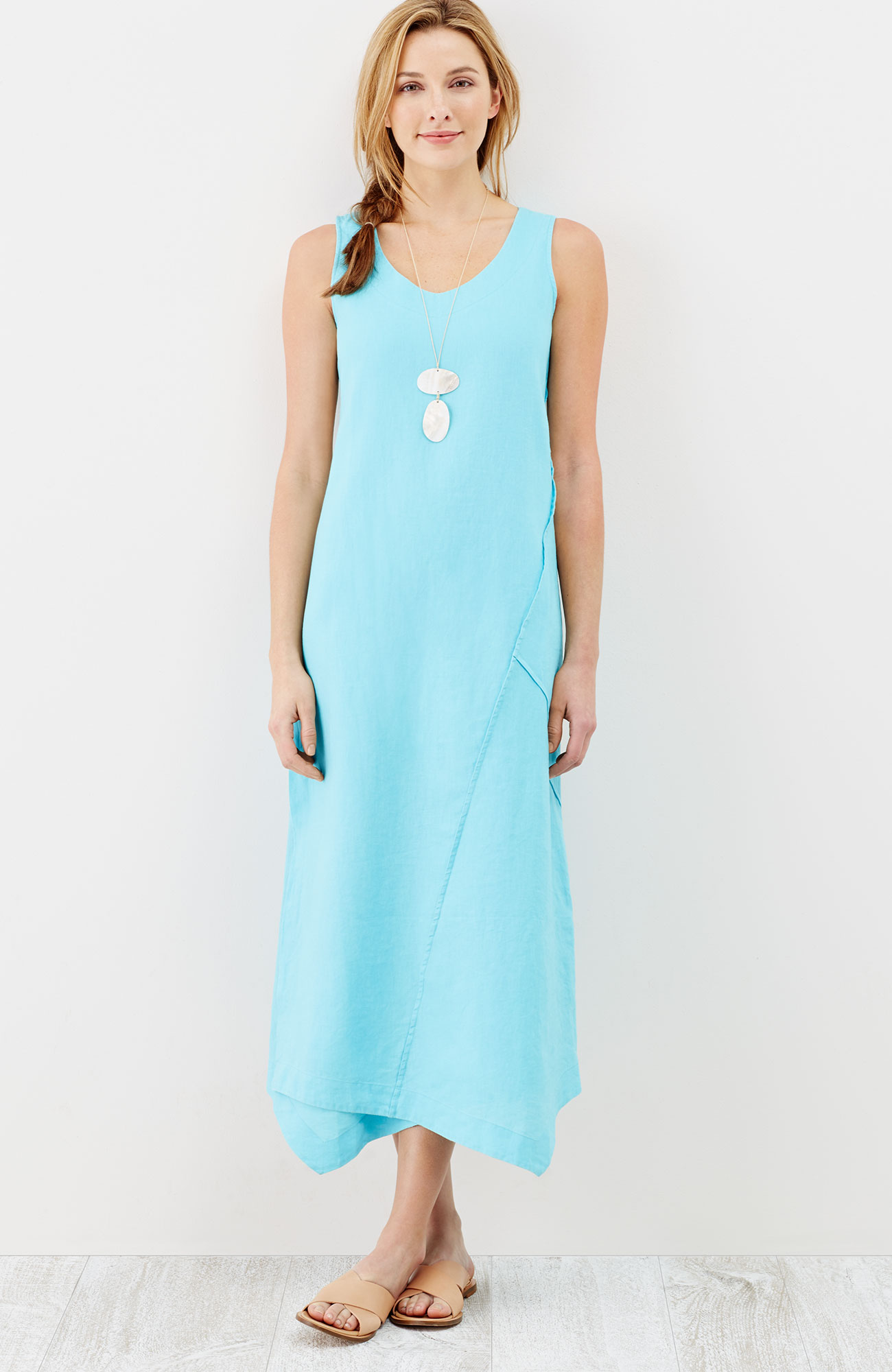 Pure Jill seamed wrap dress