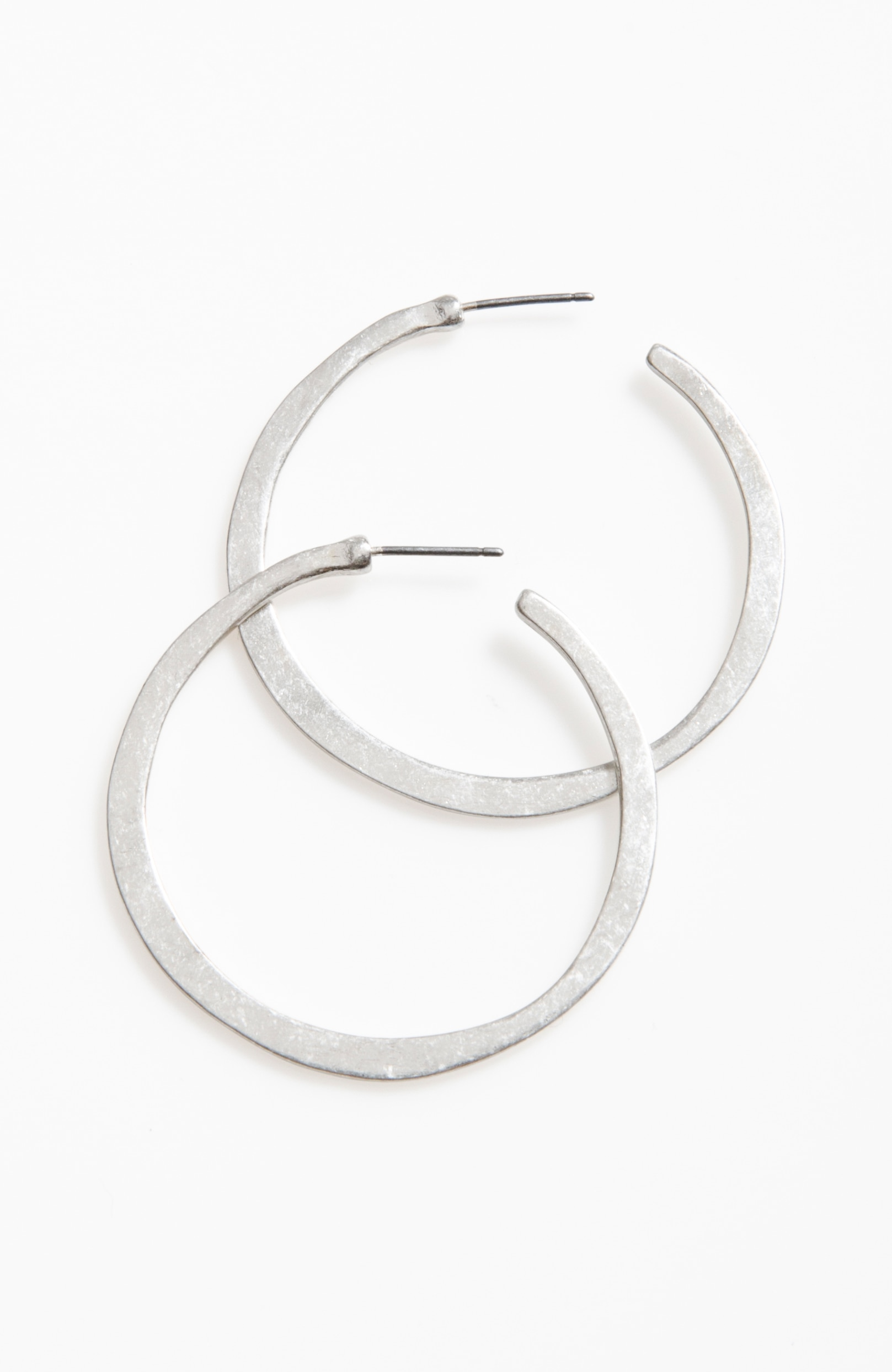 artisanal hoop earrings