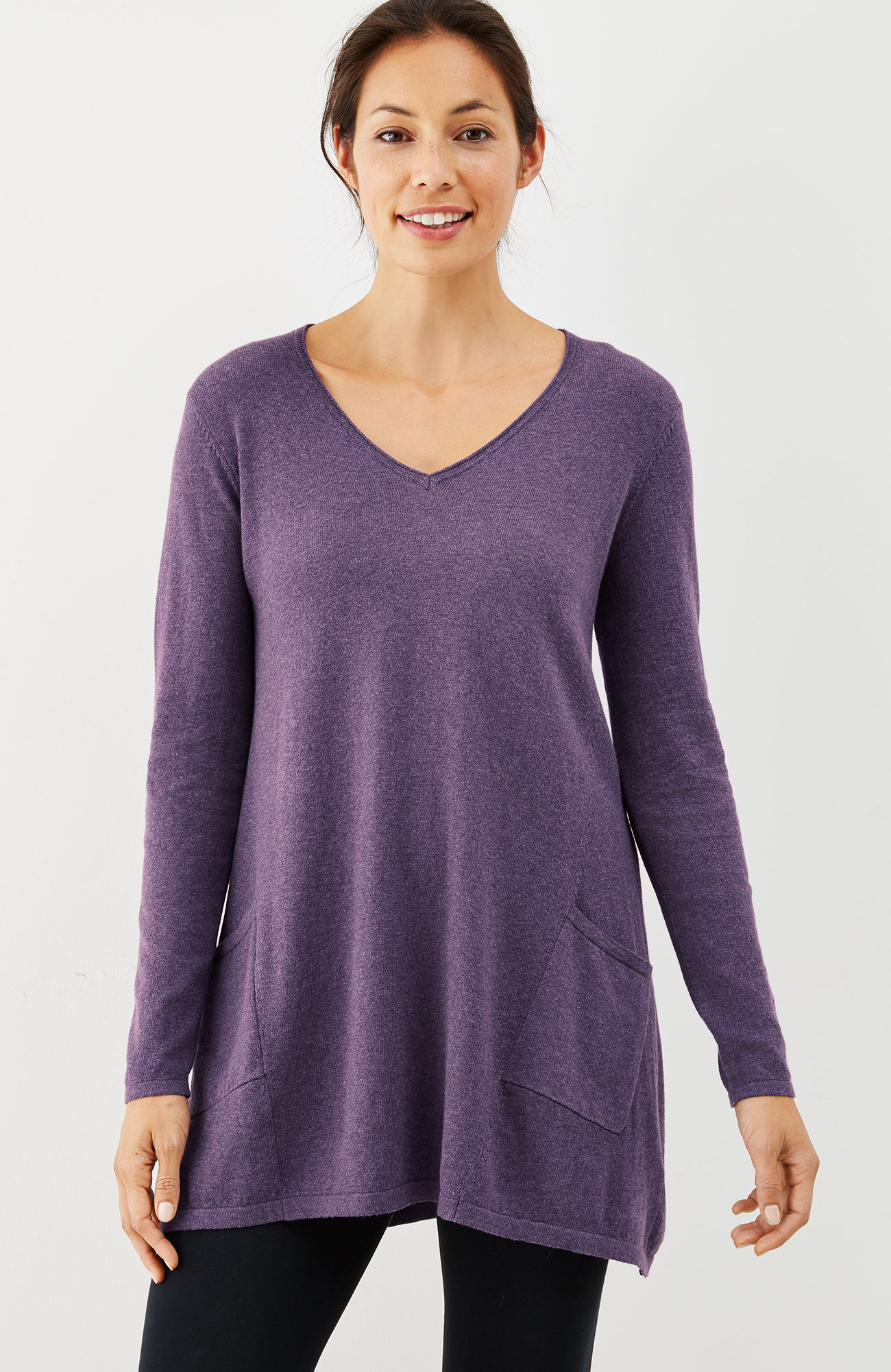 Pure Jill ultrasoft tunic sweater