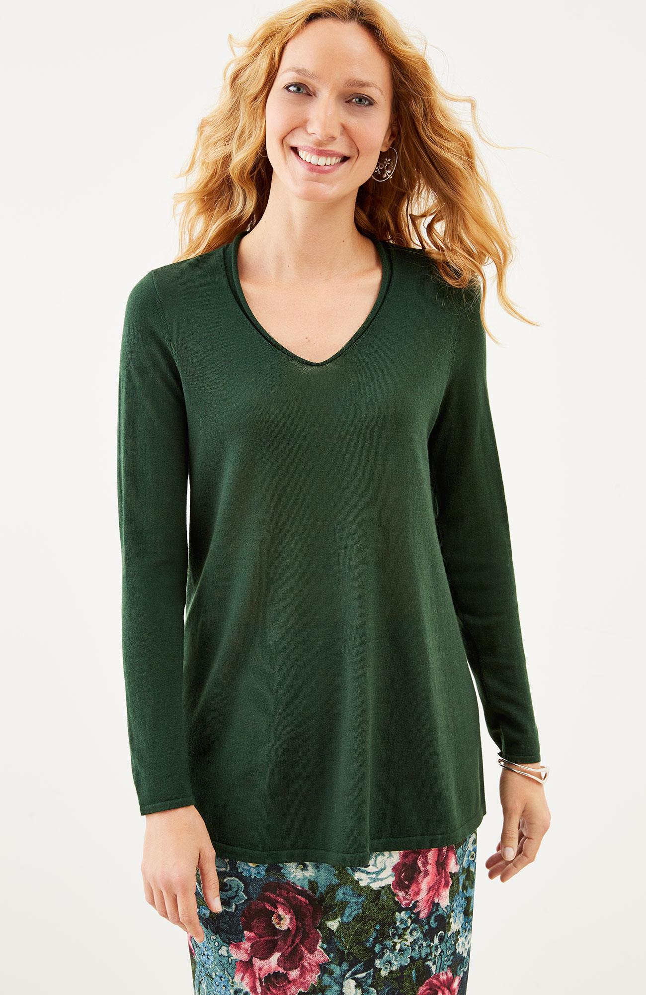 Avery merino pullover