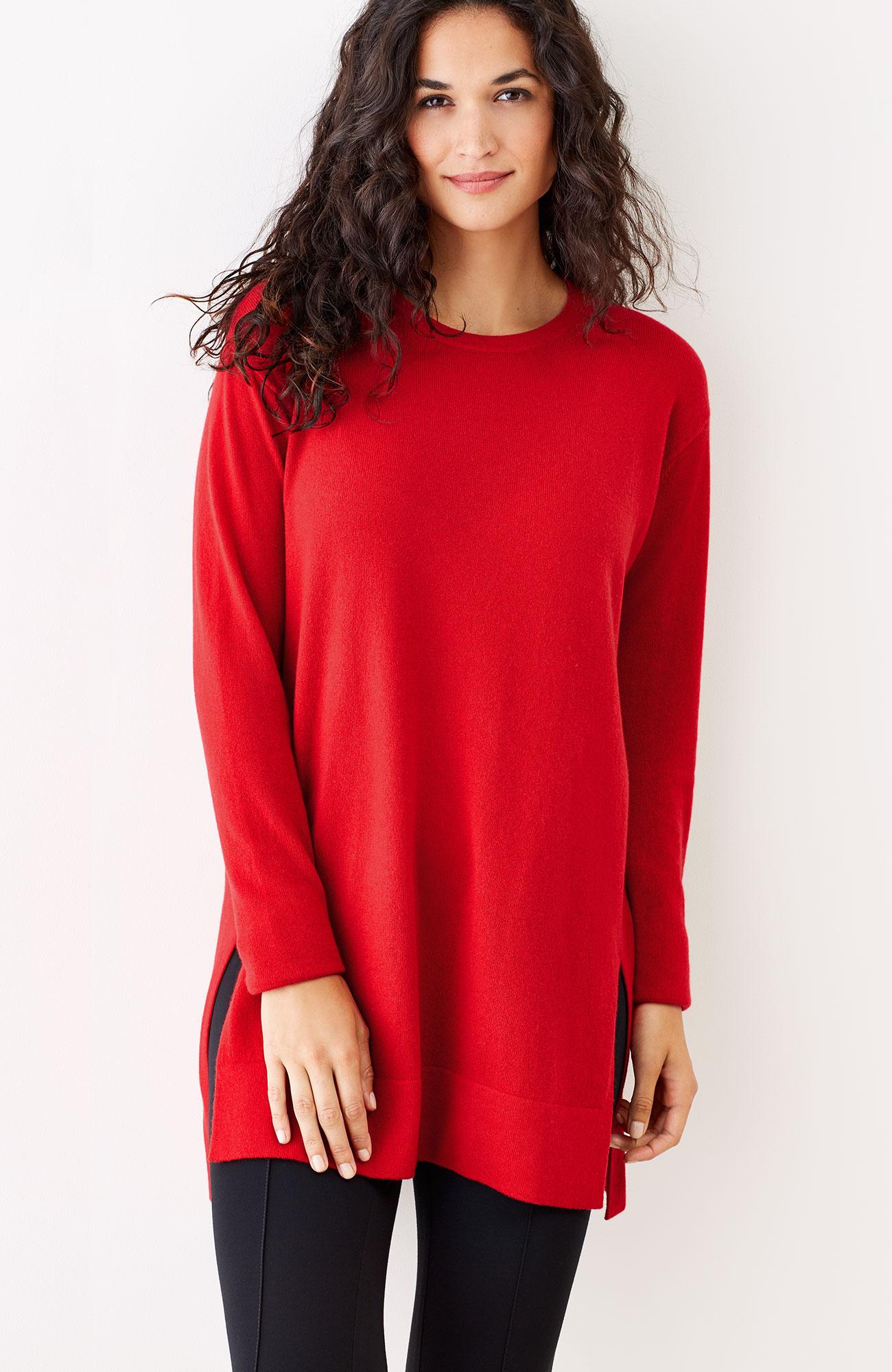 cashmere tunic