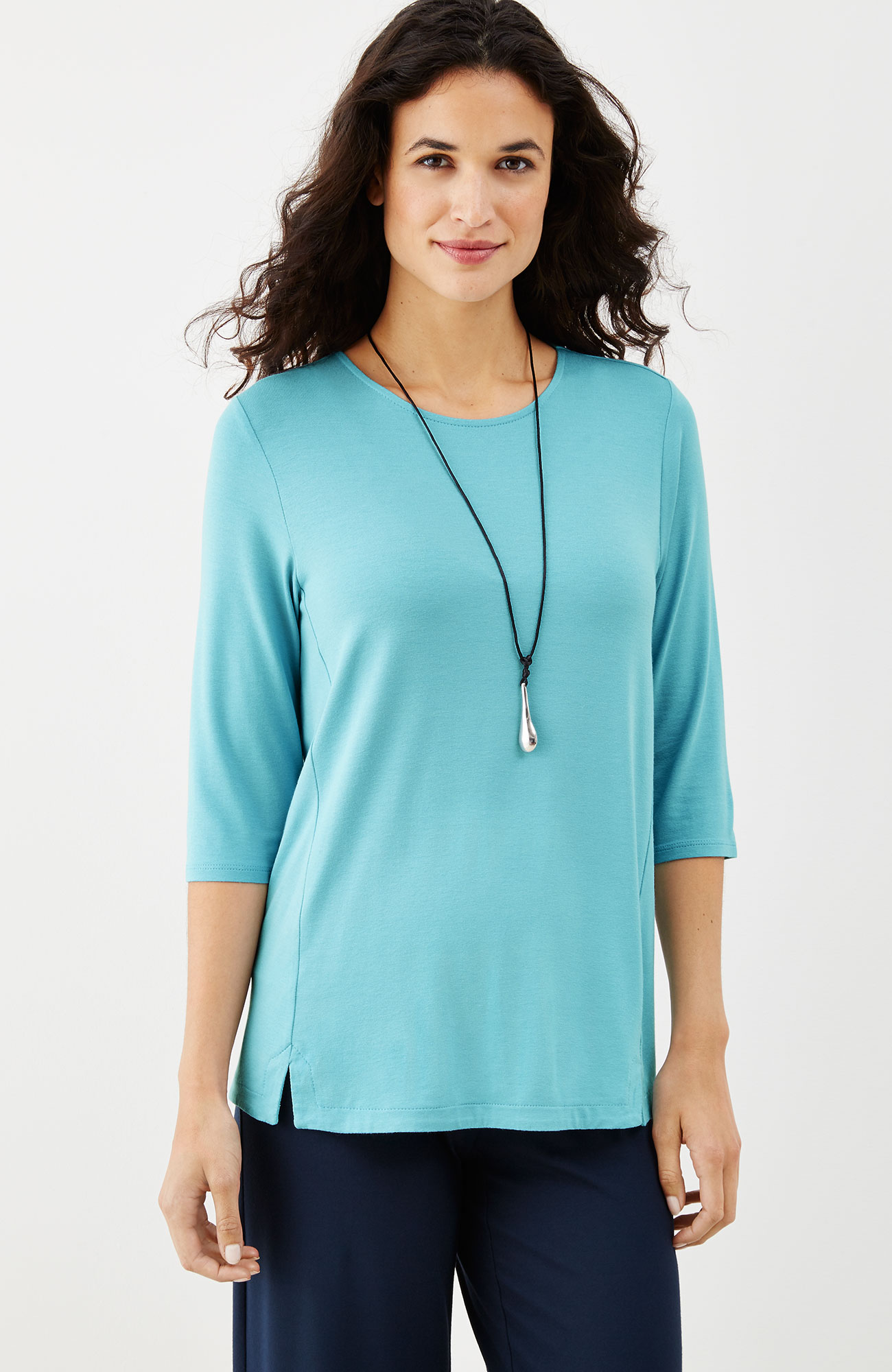 Wearever split-hem top