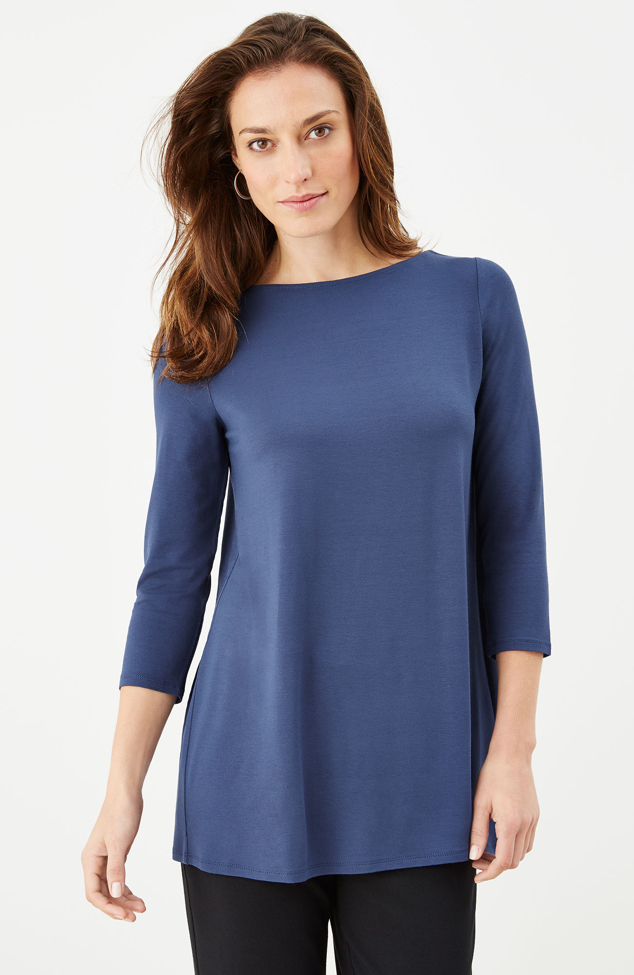 Wearever pleated-back tunic