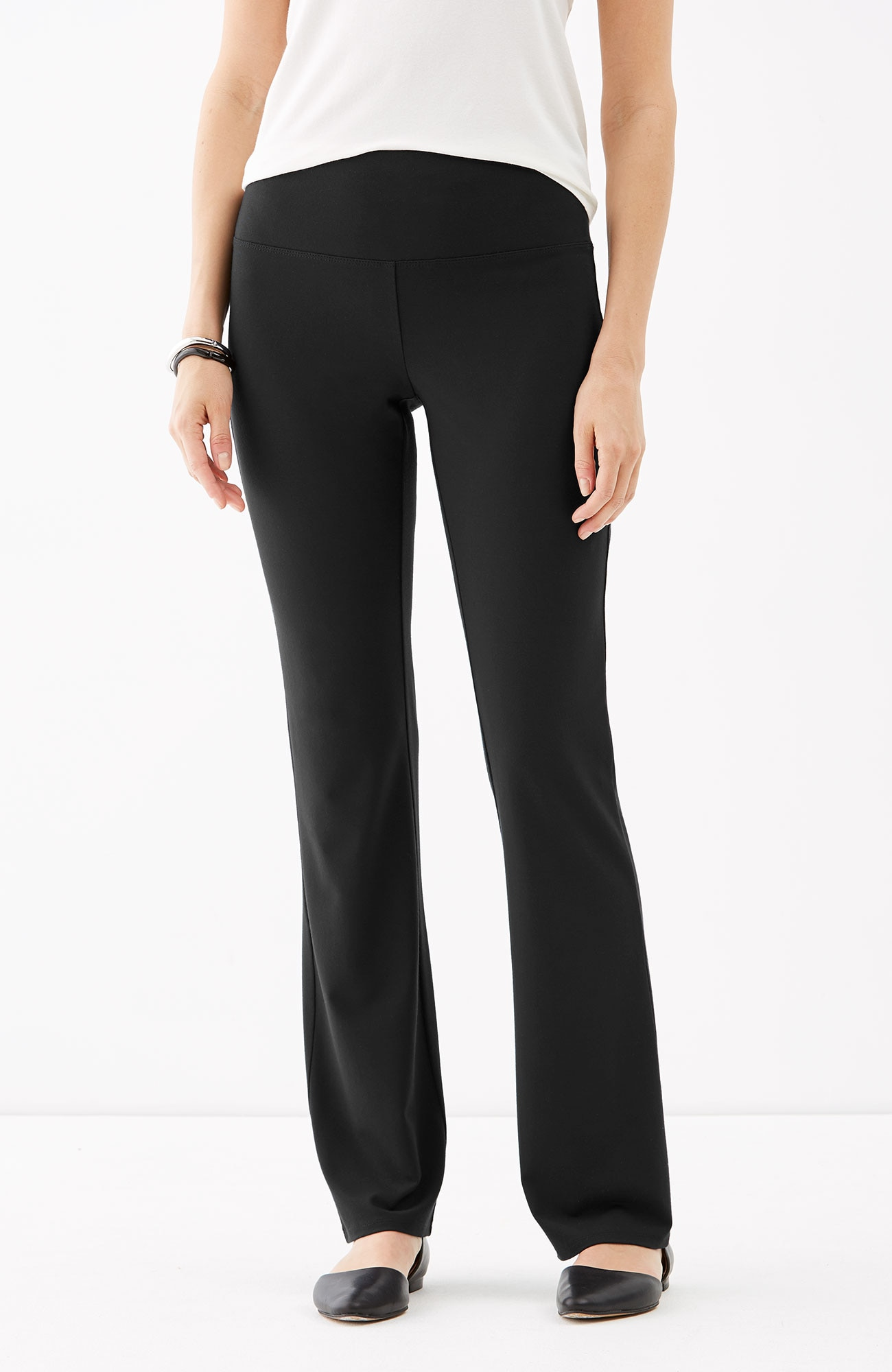 Wearever Smooth-Fit barely boot-cut pants