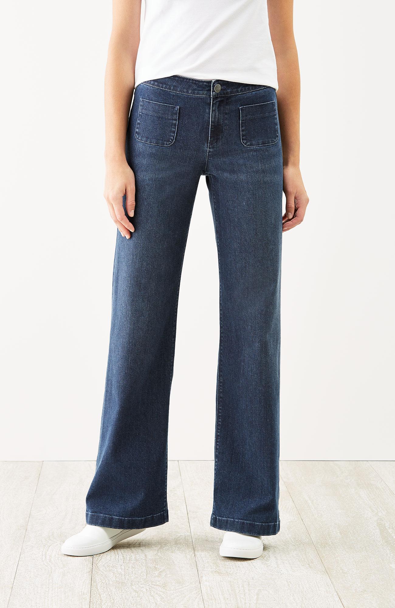 full-leg jeans
