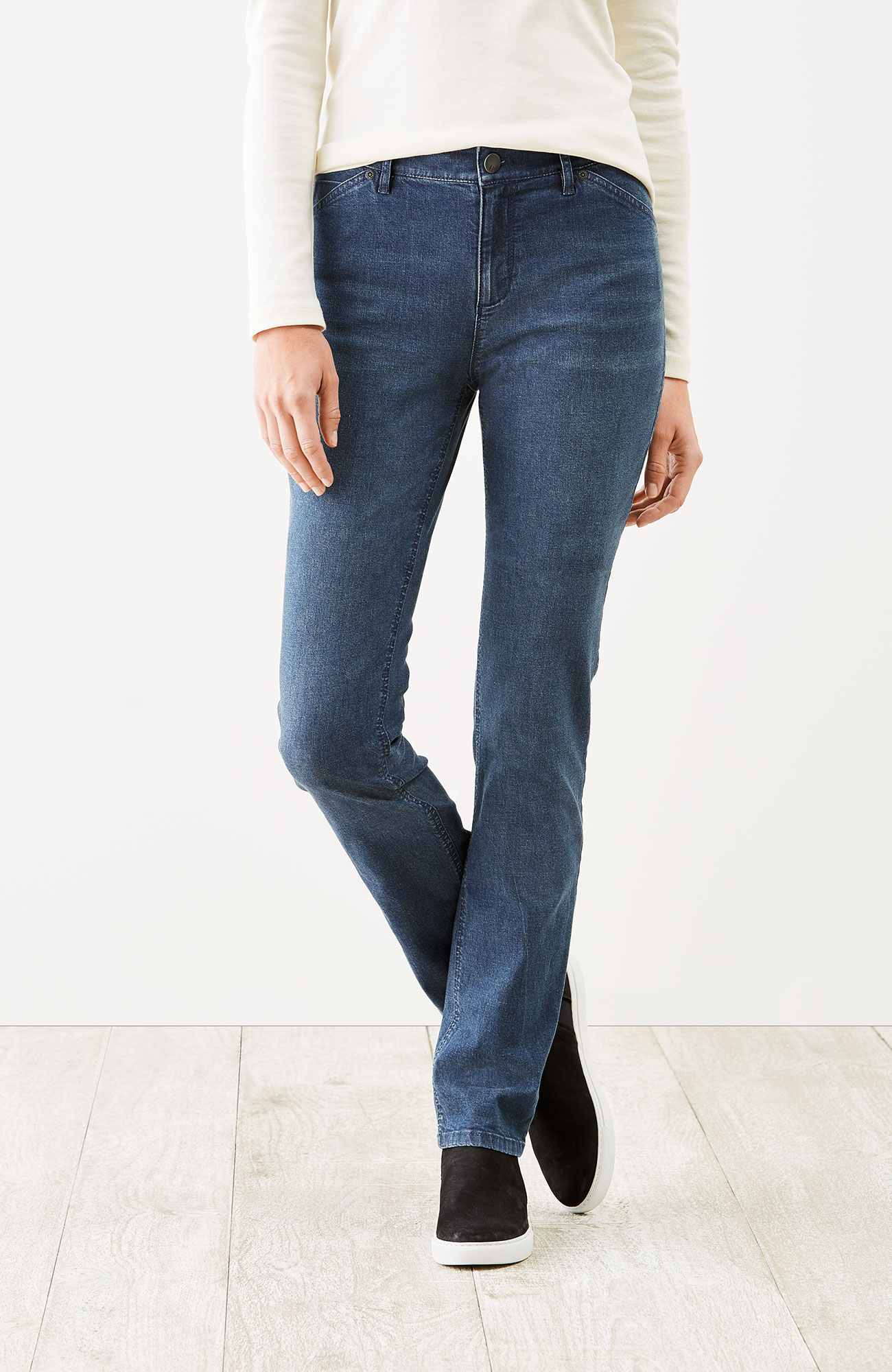 Tried & True slim-leg jeans