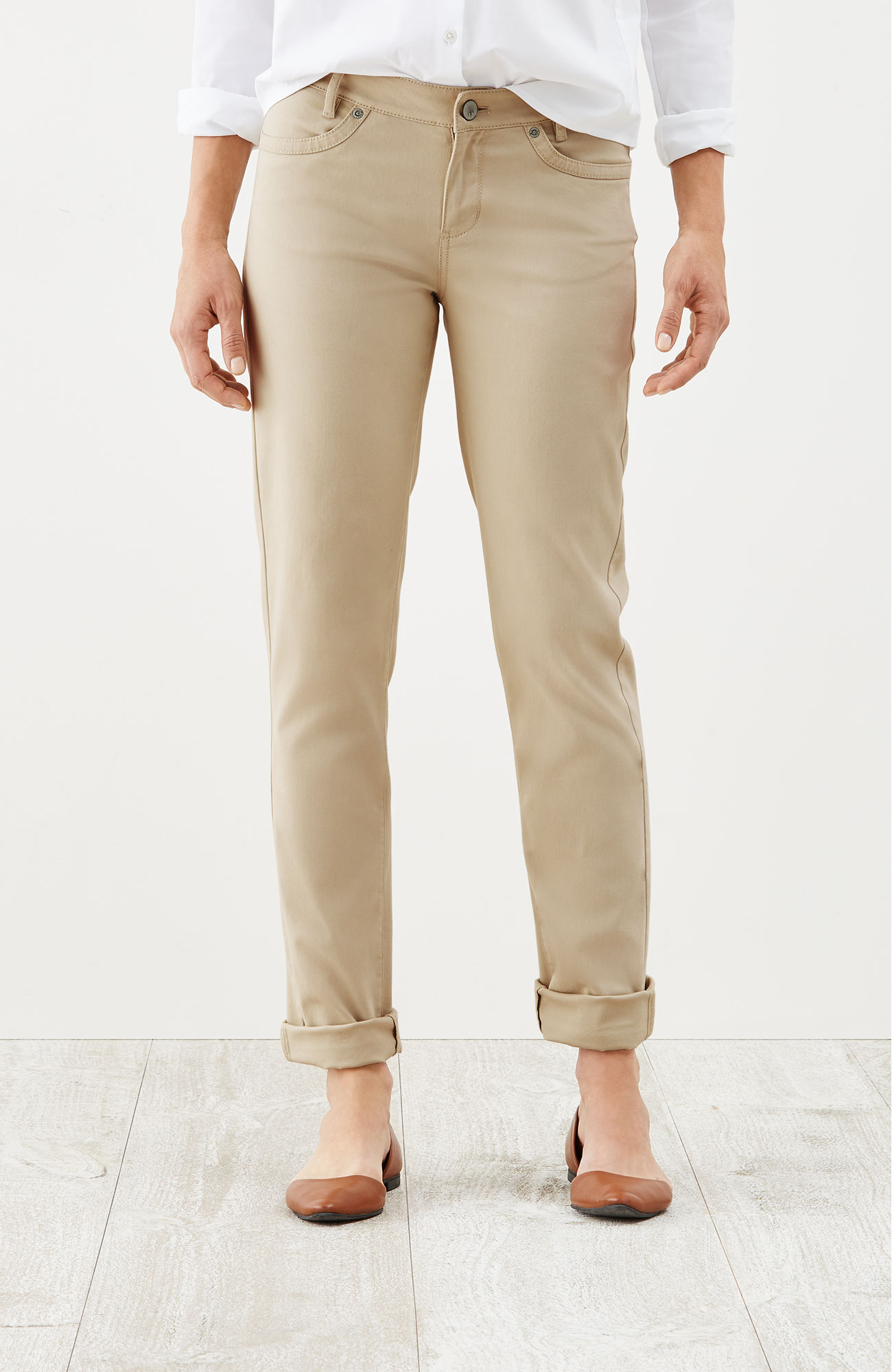slim boyfriend pants