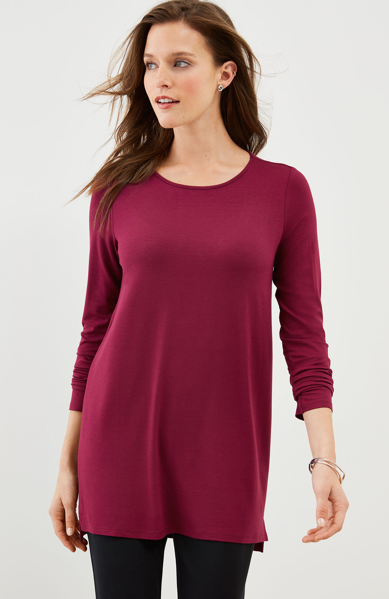 Wearever long-sleeve tunic