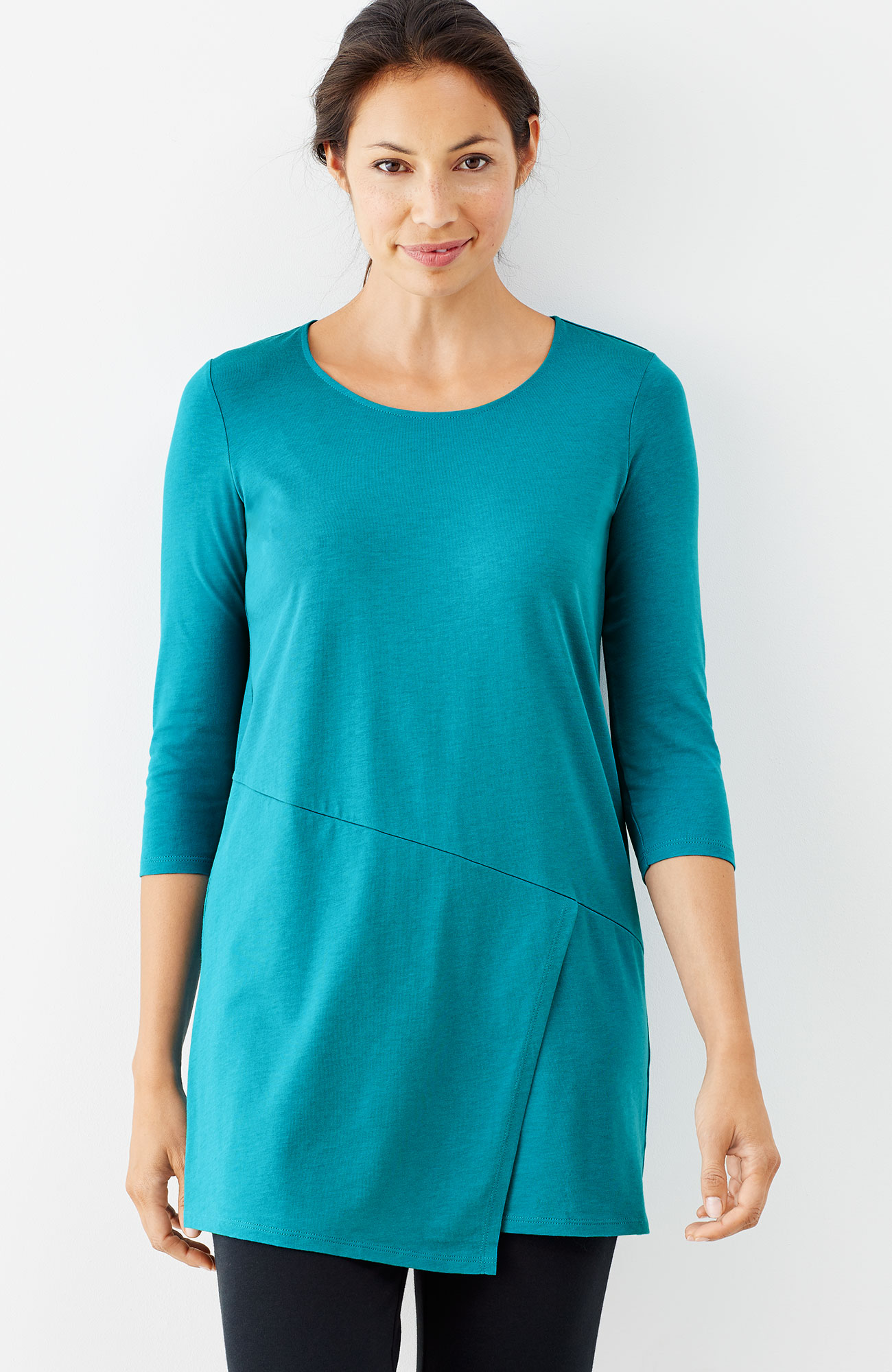 Pure Jill wrap tunic