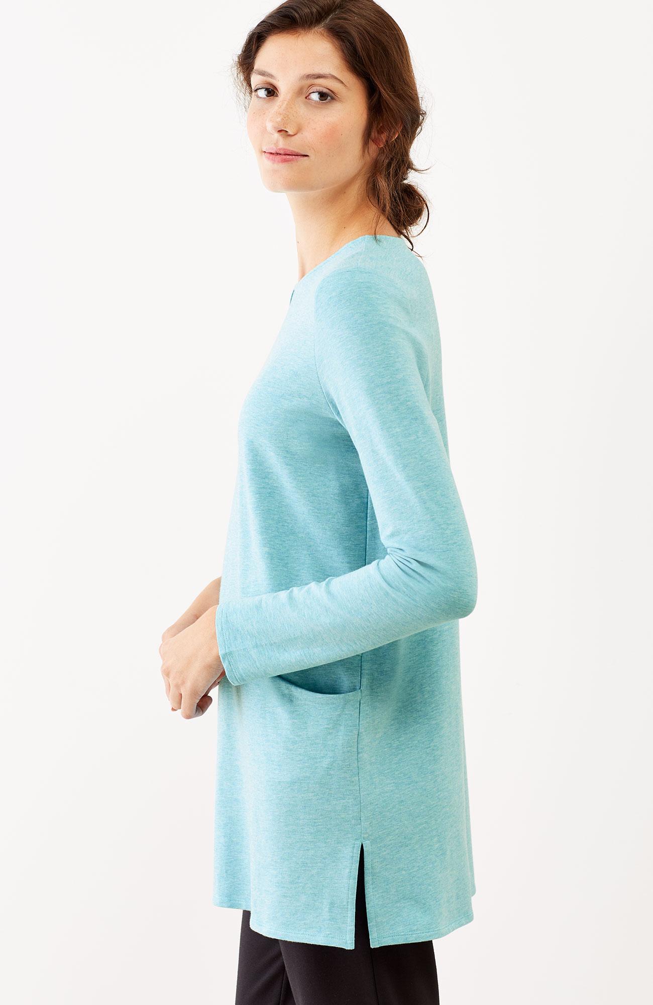 Pure Jill seamed two-pocket tunic