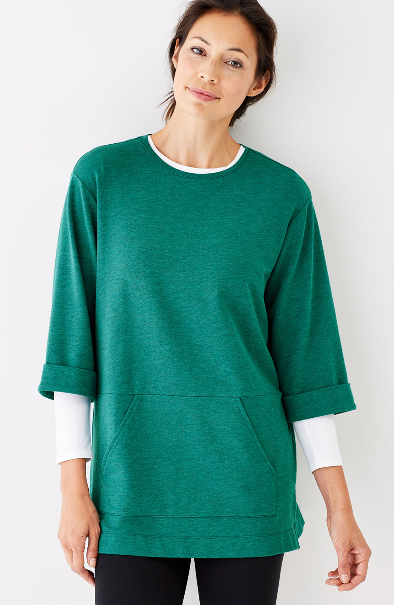 Pure Jill relaxed knit tunic