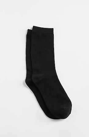 Image for Rayon From Bamboo-Blend Crew Socks