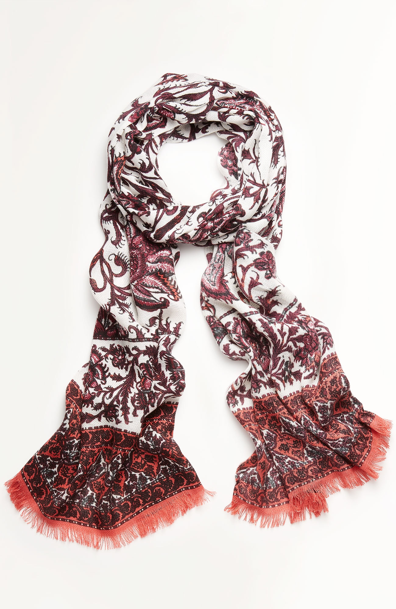 autumn vines scarf