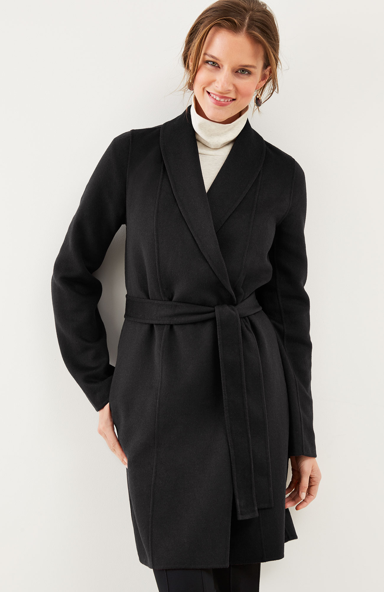 luxe double-faced coat