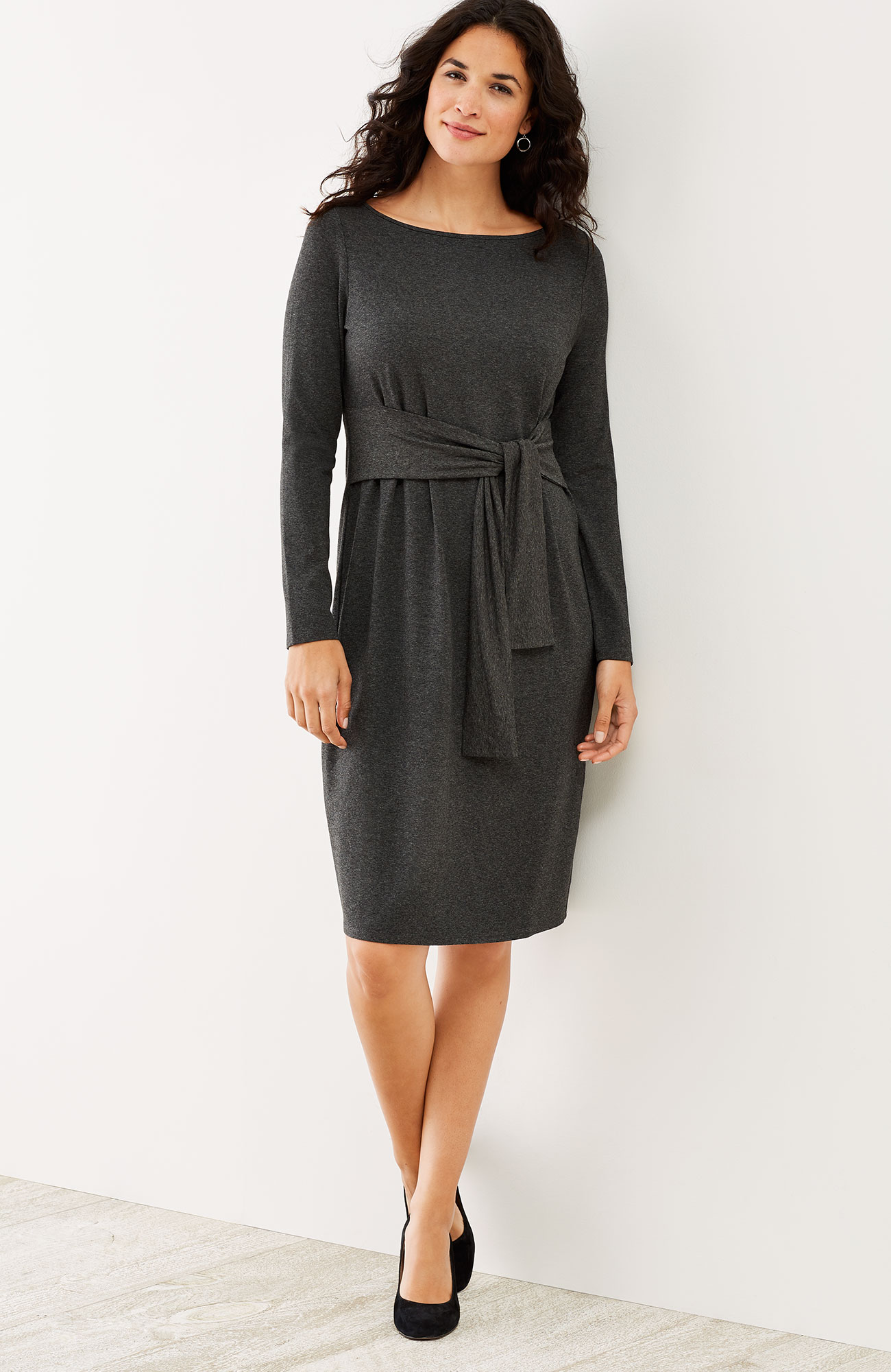 Wearever tie-front dress