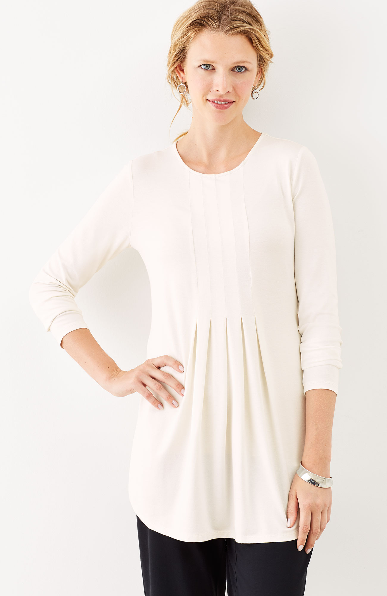 Wearever pleated tunic