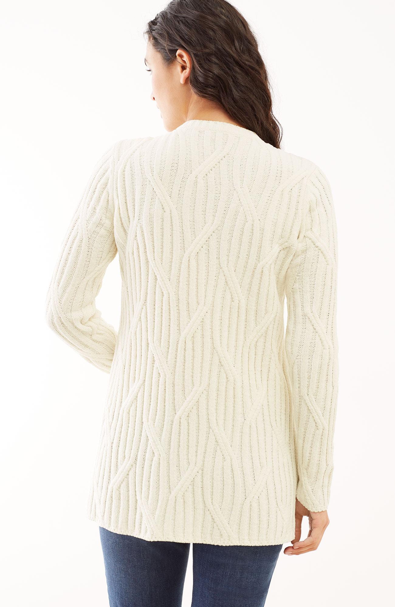 ultrasoft chenille tunic