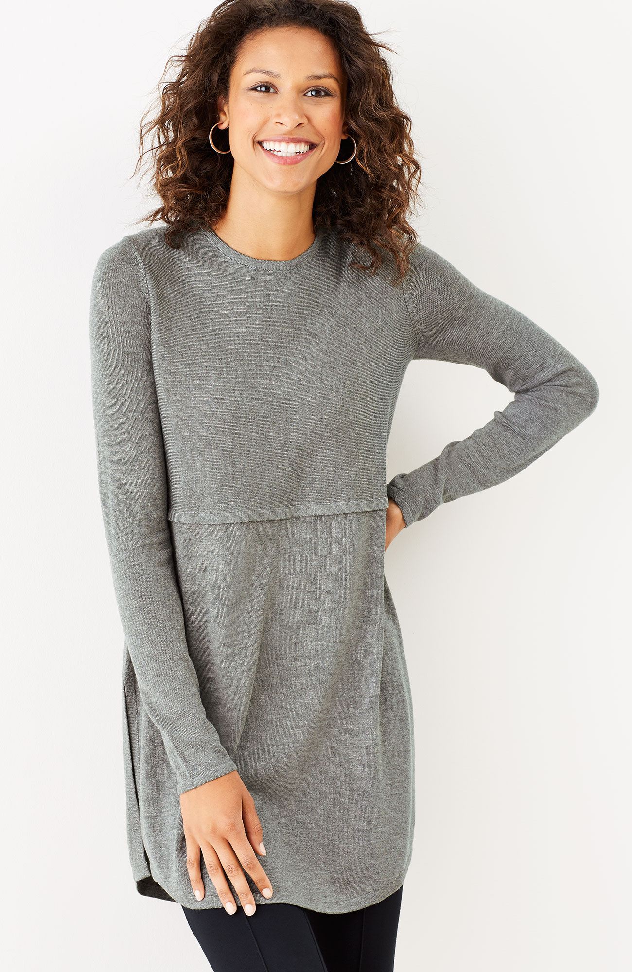 Grace sweater tunic