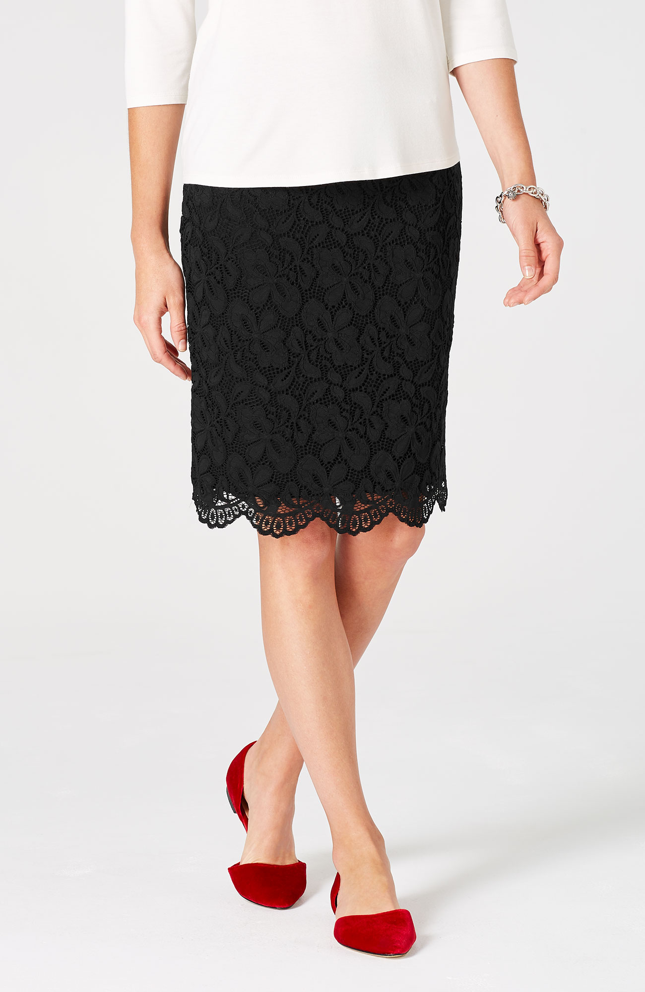 Wearever lace skirt